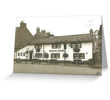 Horsforth Leeds Queen's Arms Greeting Card