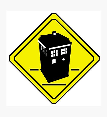 TARDIS Crossing Photographic Print