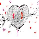 Heart Overflowing by Regina Valluzzi