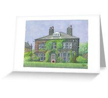 Horsforth Leeds Old Vicarage Greeting Card