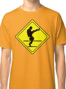 Silly Walks Crossing Classic T-Shirt