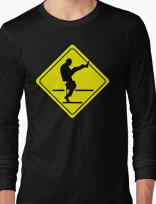 Silly Walks Crossing Long Sleeve T-Shirt
