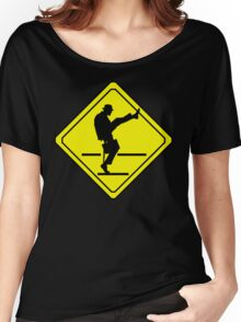 Silly Walks Crossing Women's Relaxed Fit T-Shirt
