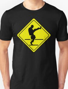 Silly Walks Crossing T-Shirt