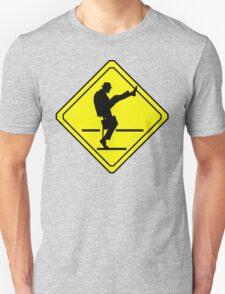 Silly Walks Crossing T-Shirt