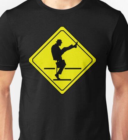 Silly Walks Crossing Unisex T-Shirt