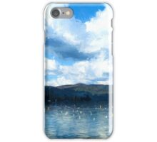 Lake Background iPhone Case/Skin