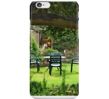 Garden in Stow on the Wold iPhone Case/Skin