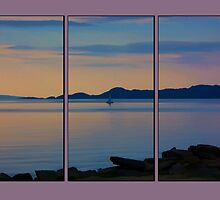 Serenity Tryptych by Chris Thaxter