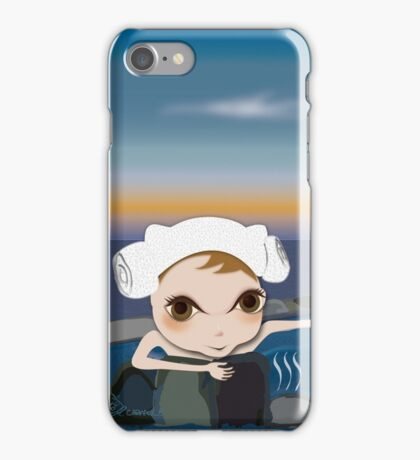 Deery Fairy in Hot Spring iPhone Case/Skin