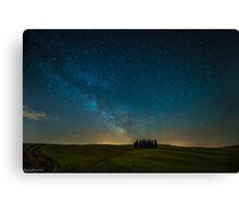 Tuscany MilkyWay Canvas Print