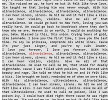 Ultraviolence Lyrics Phone Case. by cmonskinnylove