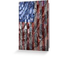 American Sacrifice Greeting Card