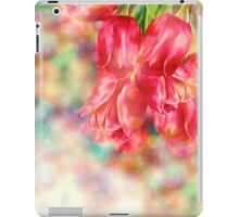 Bokeh Background with Tulips iPad Case/Skin