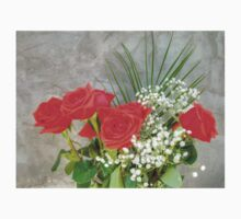 Bouquet with Red Roses Kids Tee