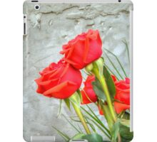 Bouquet with Red Roses 3 iPad Case/Skin