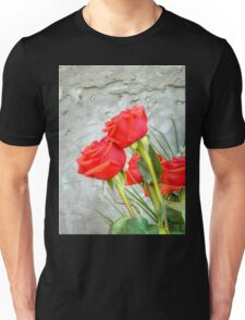 Bouquet with Red Roses 3 Unisex T-Shirt