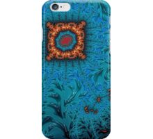 Orange and Blue Abstract  iPhone Case/Skin