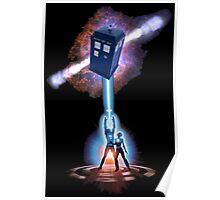 TARDIS TRON Poster