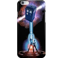 TARDIS TRON iPhone Case/Skin