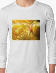 Bright yellow roses Long Sleeve T-Shirt