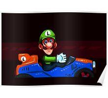 Luigi Death Stare Poster