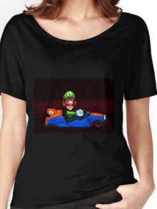 Luigi Death Stare Women's Relaxed Fit T-Shirt