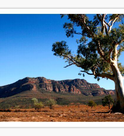 Australian Outback of the Flinders Ranges Sticker