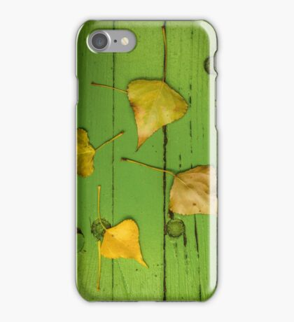Autumn Or Fall Leaves iPhone Case/Skin