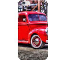 Red truck iPhone Case/Skin