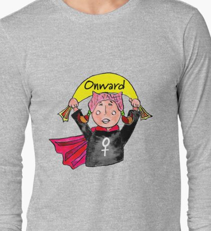 Onward, Girl Long Sleeve T-Shirt