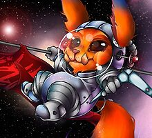 League Of Legends - Astro Gnar by mariafumada