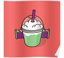 Buzz Lightyear Frozen Matcha Poster