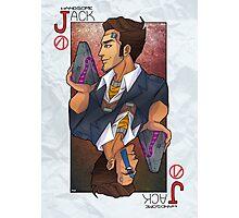 Handsome Jack card Photographic Print
