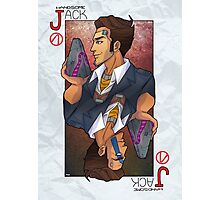 Handsome Jack card Photographic Print
