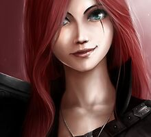 League Of Legends - Katarina by mariafumada