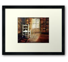 GUARDIAN OF THE LITTLE CHAIR Framed Print