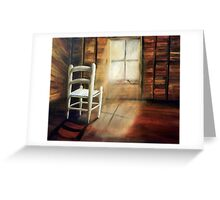 GUARDIAN OF THE LITTLE CHAIR Greeting Card