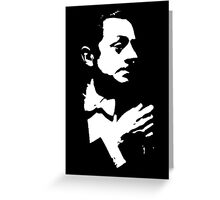 William Powell Is Cool Greeting Card