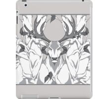 stag in nature cold iPad Case/Skin