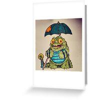Crocodoodle Greeting Card