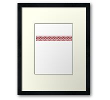Christmas Sweater Framed Print