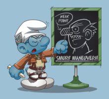 Attack on Titan Smurf Edition by Purrdemonium