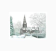 Horsforth Leeds Church in Winter Unisex T-Shirt