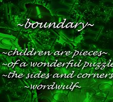 ~boundary~ (snippet) by wordwulf