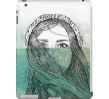 Érase una vez que lloró tanto que se autoinundó... iPad Case/Skin