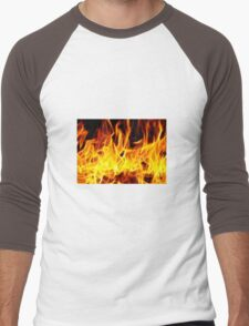 Fire Men's Baseball ¾ T-Shirt