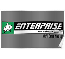 Enterprise Rent-A-Shuttle Poster