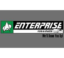 Enterprise Rent-A-Shuttle Photographic Print