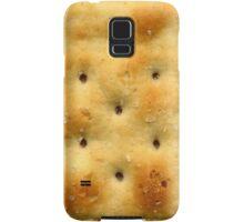 White Saltine Soda Cracker Samsung Galaxy Case/Skin